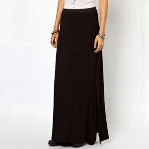 Free People Rayon Maxi Skirt XS